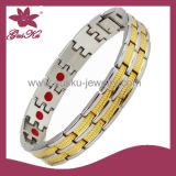 Gold Stainless Steel Bracelet (2015 STB-115GS)