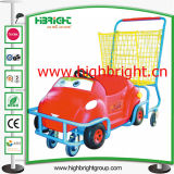 Plastic Carting Toy Shopping Cart for Children and Kids