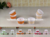 Set 6 PCS Ice Cream Cups with DOT Design (LS-7037)
