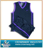 Custom Design Mens Blank Basketball Uniform with Team Logo