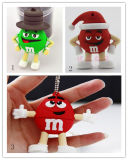 Wholesale USB Flash Drive Cartoom Chocolate Beans USB Stick Flash Disk Pendrives USB Flash Card Memory Stick USB Flash Thumb Drive USB memory Card USB Disk