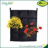 Onlylife BSCI Eco-Friendly Hanging Grow Bag Vertical Planter