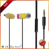 Colorful Creative Pencil Mini Earphone for Kids