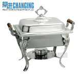 Stainless Steel Oblong Tiger Leg Chafing Dish/ Chafer/Food Warmer (834TIL)