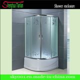Pitfall Patterned Glass Stainless Steel Shower Room (TL-541)