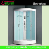 Frosted Glass Sliding Door Low Tray Shower Room (TL-8825)