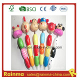 Wooden Craft Pencil with Animal Cartoon Design