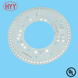 PCB Manufacturing 4 Layers Aluminum Bare LED PCB Board (HYY-152)