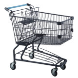Shopping Trolley Price with Powder Coating Surface Treatment