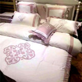 Embroidery Cheap Price Satin Cotton Pillow Cover