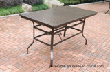 Hot Cast Aluminum High Dining Table Furniture for Garden