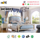 New Wooden Home Furniture Classical Style Bedroom Set (9023)