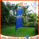 Attractive Print Cheap Feather Flag