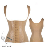 New Steel Boned Slimming Underbust Latex Waist Trainer Body Shaper