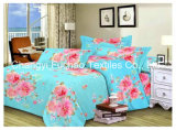 100% Polyester Microfiber Printed Bedding Set Used for Home