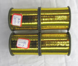 Metallic Yarn or Metallized Flat Yarn, Gold Color (M-Type) (M-08)