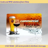 Beverage Store Card Made Plastic with Magnetic Stripe