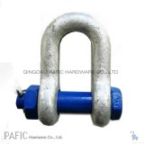 Drop Forged High Tensile Screw Pin/Safety G-210/G-2150 Chain Shackle