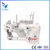 Direct Drive Four Needles Six-Threads Flatseamer Sewing Machine for Gem5100d-02f