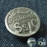 Elegant Custom Logo Metal Snap Button for Coat