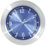 10 Inch Analog Aluminium Wall Clock for Home Decoration