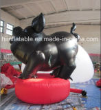 Giant Atrractive Inflatable Pig Cartoon, Inflatable Pig Model