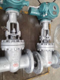 Gate Valve A216 with Electric Actuator