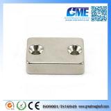 N42 F30X21X8mmx4.2mm High Quality Double Countersunk Neodymium Magnet