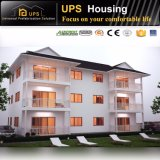 Long Life Span Well Finished Wind Resistance Prefabricated Villa