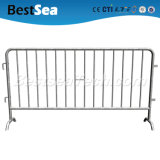 C Style Bottom Steel Crowd Control Barriers