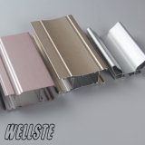 Powder Coated Extruded Aluminum Framing for Sliding Window