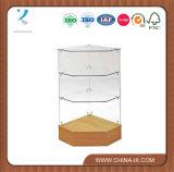 Frameless Glass Corner Display Cabinet