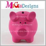Cute Cartoon Pig Ceramic Piggy Bank Children Toy Coin Cashbox