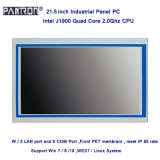 support windows or Linux system 21.5 inch hightness LCD touch screen embedded panel PC
