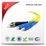 LC/Sc/FC/St/Mu/MTRJ/E2000 PC/Upc/APC Singlemode Multimode Simplex Duplex Fiber Optic Patch Cord