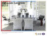 Outdoor Durable Garden Rattan Teak Table Set (TG-1633)