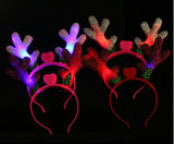 OEM Christmas Reindeer LED Hairband Hair Accessory