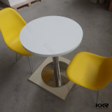 Customized Round Fast Food Restaurant Dining Table