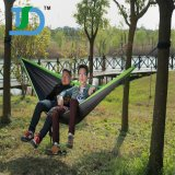 Carries Lightweight Portable Nylon Parachute Hammock for Backpacking