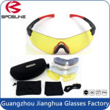 Summer Hot Sale Bicycle Accessories Road Bike Glasses with Interchangeable Lens