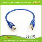High Speed Transparent USB Printer Cable Am/Bm