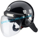 Police Riot Resistant Safety Helmet with Visor