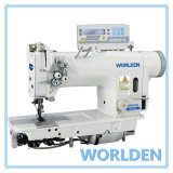 Wd-8422D High-Speed Double Needle Lockstitch Sewing Machine with Direct Drive