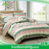 4 PCS Cotton Teal and Yellow Bedding for Bedroom
