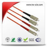 Simplex Single Mode Patch Cord FTTH with Diameter 0.9mm 2mm 3mm