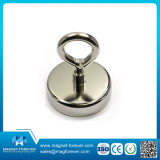 Holding Power Ceramic Cup Magnet Magnetic Round Base