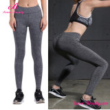 Wholesale Grey Women Running Sportwear Yoga Leggings