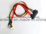 SATA Hard Drive Power Sync Data Cable