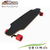 4 Wheels Dual Hub Motor Electric Skateboard W/O Remote Control