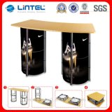 Portable Aluminum Twist Tower Display Table